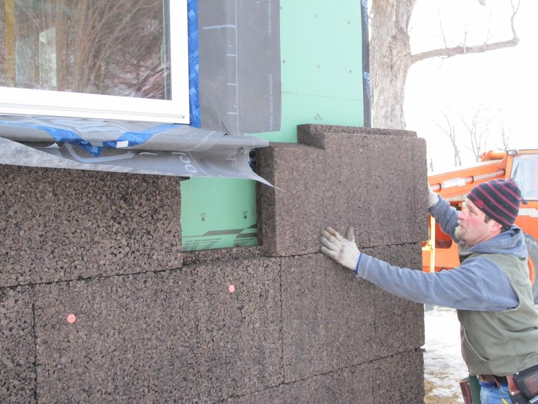 Cork Insulation On Our Farmhouse Buildinggreen