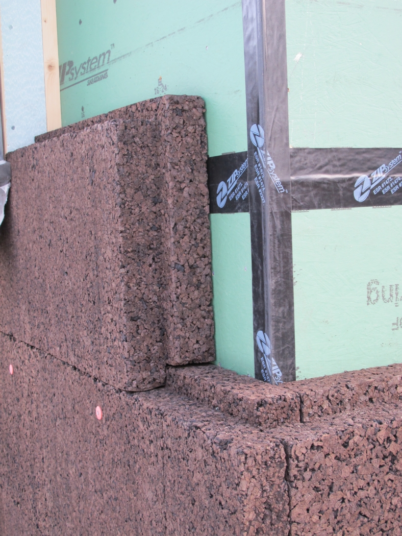 Cork Insulation On Our Farmhouse Buildinggreen