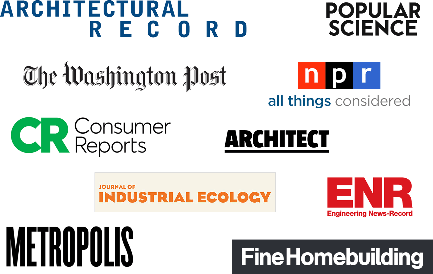 Impressive list of media outlets