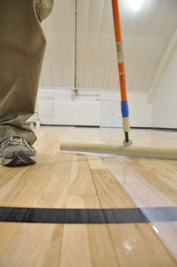 Water Based Polyurethanes And Panelization Of Athletic Floors Buildinggreen