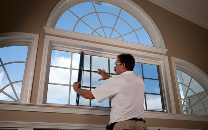 Large Foyer Window Replacement : Keeping the sun out a guide to window attachments