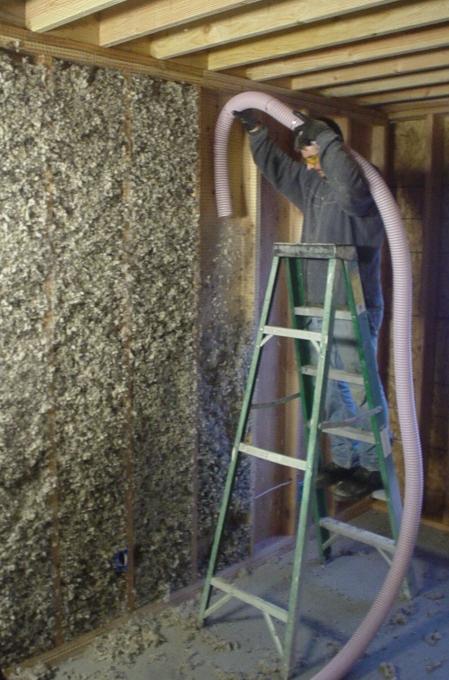Loose-fill Wool Insulation from Oregon Shepherd   BuildingGreen