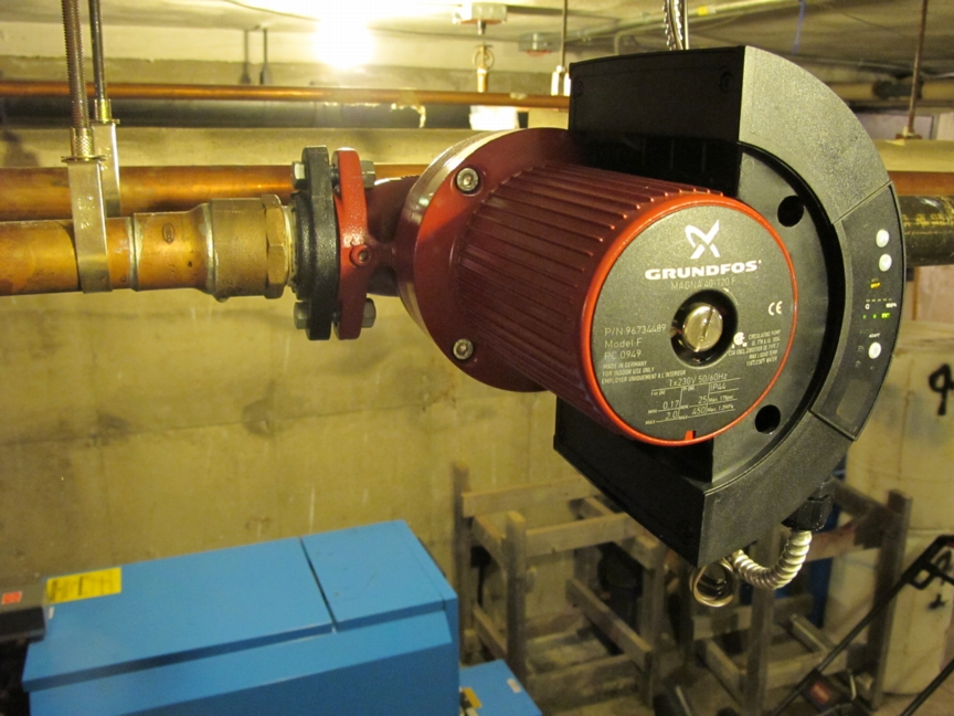 Grundfos And Wilo Quot Smart Quot Circulator Pumps For Hydronic