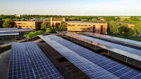 solar photovoltaic parking canopies