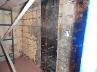 Photo of an older foundation that was successfully waterproofed