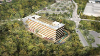 Carbon neutral building pilot project in Canada