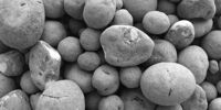 Carbon sequestering aggregate can be used in concrete.