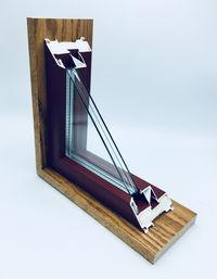 Alpen's thin-glass triple-pane window