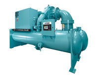 The YORK YZ Magnetic Bearing Centrifugal Chiller is energy efficient and uses the next-generation hydrofluoroolefin (HFO) refrigerant R-1233zd(E), with a global warming potential (GWP) of only 1.