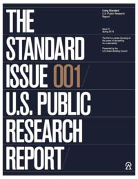 Cover of Living Standard Issue 001