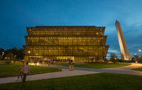 exterior of the Museum of African-American History and Culture in Washington, D.C.