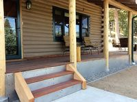 porch flashing for wildfire protection