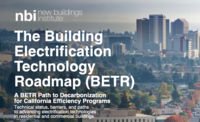 cover of Building Electrification Technology Roadmap