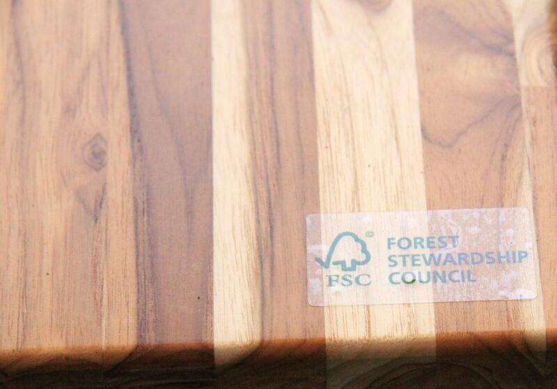 fsc wood tabletop