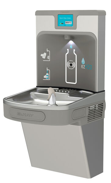 Elkay bottle station and drinking fountain