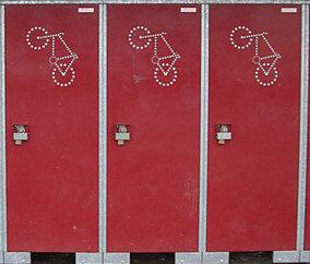bike lockers in the UK