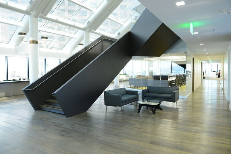 WELL building with daylighting and active design