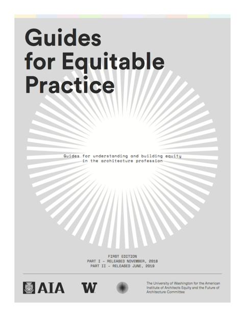 AIA guides for equitable practice cover