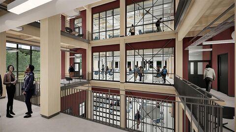STEM building at Michigan State University