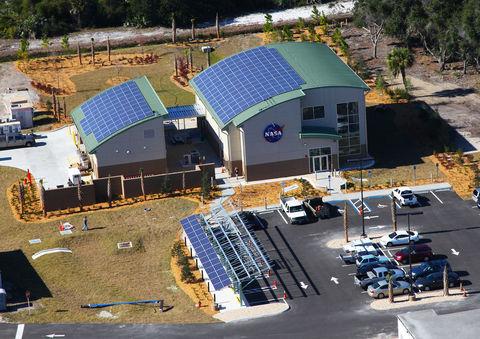 NASA net-zero building