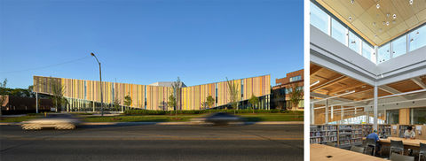 Albion District Library, designed by Perkins+Will.