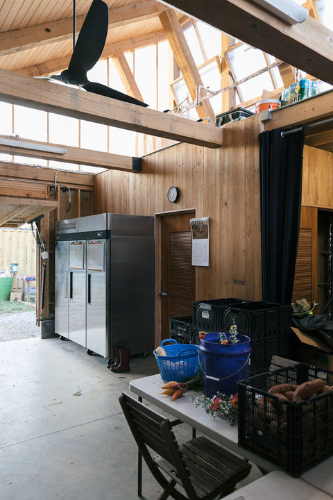 Beltline shed interior