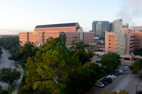 Ben Taub Hospital at the Texas Medical Center in Houston.