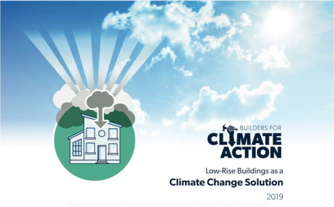 cover of white paper by Builders for Climate Action