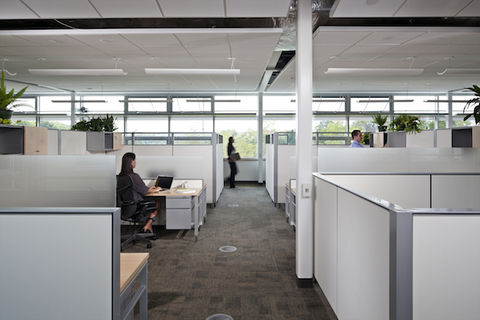 Office at Center for Sustainable Landscapes