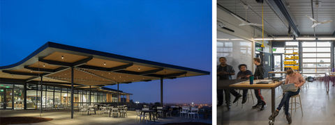 Sonoma Academy's Janet Durgin Guild and Commons by WRNS Studio.