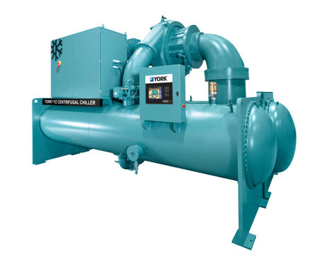 The YORK YZ Magnetic Bearing Centrifugal Chiller is the first commercial chiller to be optimized for use with R-1233zd(E)—a next-generation hydrofluoroolefin (HFO) refrigerant with a global warming potential (GWP) of only 1.