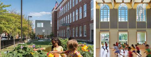 Mundo Verde Bilingual Public Charter School by Studio Twenty Seven Architecture.