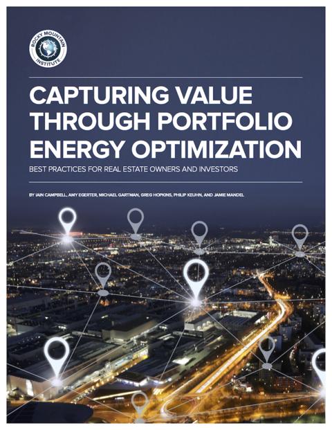Rocky Mountain Institute report on portfolio energy retrofits.
