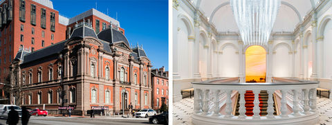 The Renwick Gallery of the Smithsonian American Art Museum, DLR Group Westlake Reed Leskosky.