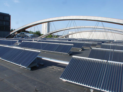 Solar Thermal Hot Water, Heating, and Cooling   BuildingGreen