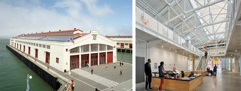 San Francisco Art Institute by Leddy Maytum Stacy Architects.