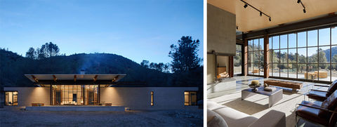 Sawmill Canyon Retreat, by Olson Kundig.