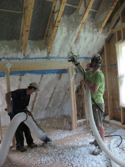 Getting to Know Spider Insulation | BuildingGreen