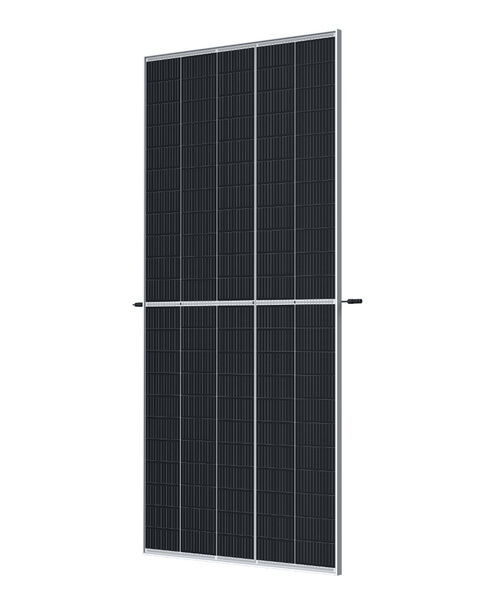 Trina Solar's Vertex PV panels use large wafers to create more efficient panels.