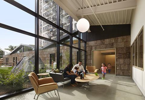 Bark House shingles at the University of Chicago