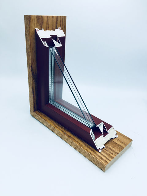 Alpen ThinGlass Triple windows have the high performance of a thick triple-pane window but is the same thickness as standard double-pane windows.