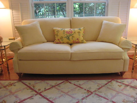 Photo of an upholstered couch