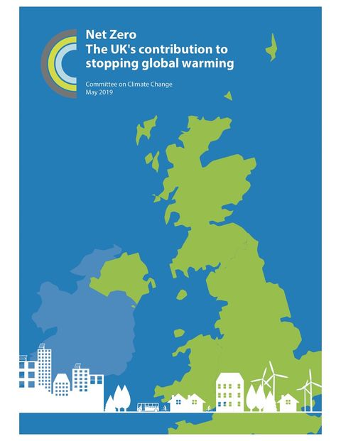 Cover of UK net-zero advisory report