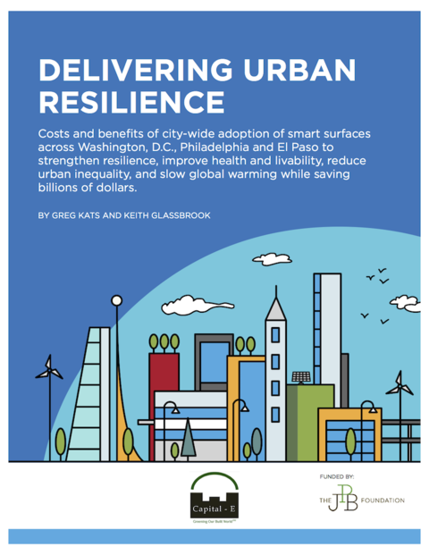 Delivering Urban Resilience report cover