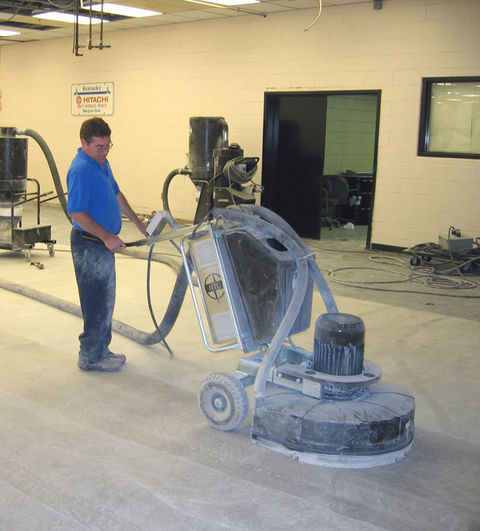 Polished Concrete Outshines Other Flooring Options