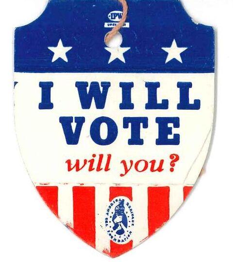 i will vote badge gotv