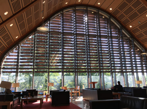 Kroon Hall at Yale School of Forestry third floor