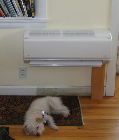 Fujitsu 3/4-ton model 9RLS mini split heat pump