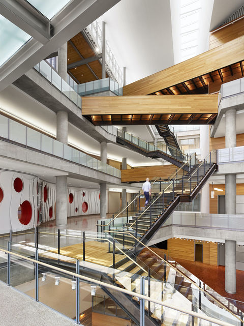 Austin Central Library interior