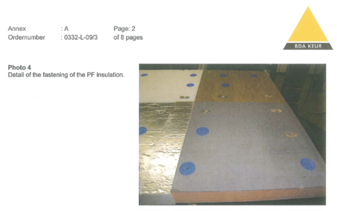 Photo of four types of rigid insulation